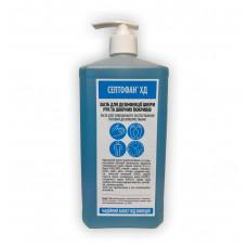 Септофан ХД (флакон с помпой 1л) - средство для быстрой дезинфекции кожи рук