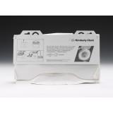 Одноразовые покрытия (накладки) для унитаза Кимберли Кларк (Kimberly Clark) 6140 (125 шт)
