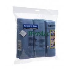Микрофибра,  тканевая, синяя 8395